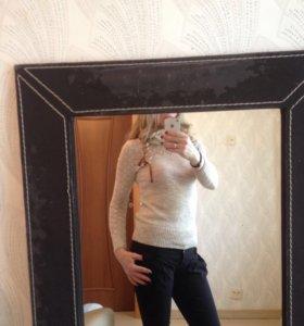 ‼️🌹Классный бежевый свитерок 42-44р.🌹‼️