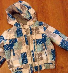 Куртка демисезонная на мальчика Баркито 92 р-р