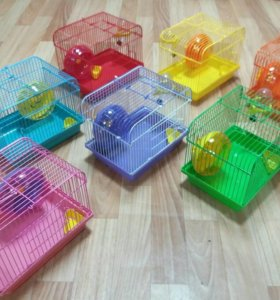 Клетки для птиц,грызунов.разных расцветок размеров