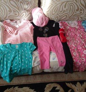 2-4г 98-104-110 пакет одежды для девочки