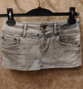 Юбка джинсовая, размер 44