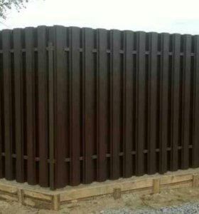 Изготовление и установка заборов и ворот