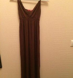 Трикотажное платье Твоё