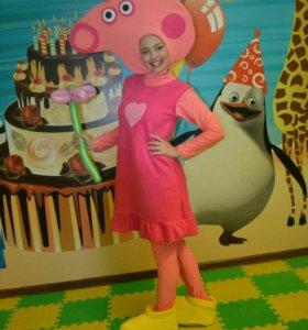 Свинка Пеппа. Аниматоры на детский праздник.