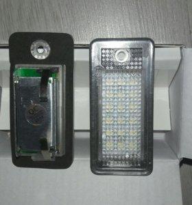 Подсветка номера AUDI