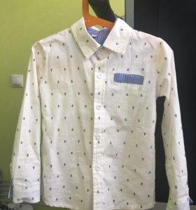 Рубашки на 110-116см