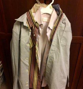 Пиджак и рубашки на школьника 2-3 класс.