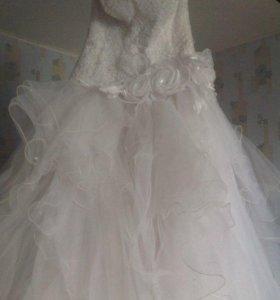Свадебное платье, размер 44-46