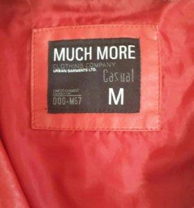 Куртка из искуственной кожи