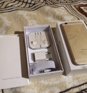 Айфон iPhone 6 16gb gold