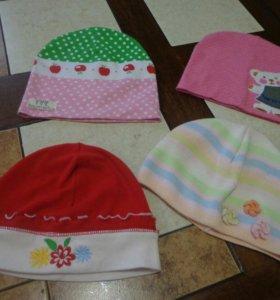 Тоненькие шапочки весна- лето