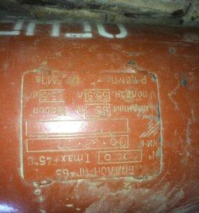 газовый балон 65л б/у полный с газом