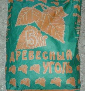 Уголь березовый 5кг.