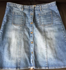 Джинсовая юбка H&M