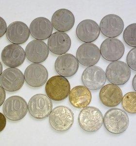 Монеты 1983-1993гг
