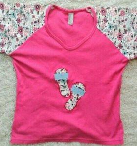 Пижама футболка