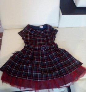 Платье шерстяное б/у