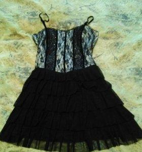 Платье корсетное