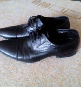 Мужские кожаные туфли!!!Торг!!!