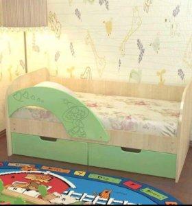 Кровать детская эвкалипт новая