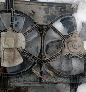 Моторчик вентилятора Nissan rnessa