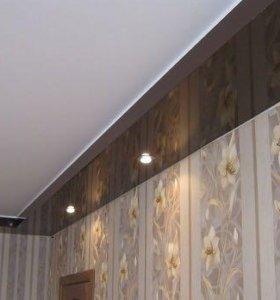 Натяжные потолки art:602 цветные и белые