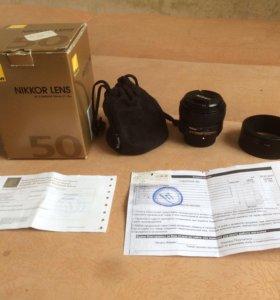 Nikon 50mm 1.8G AF-S