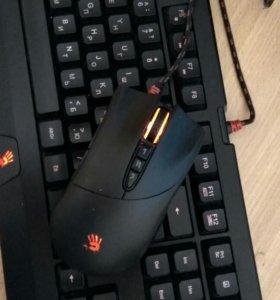 Комплект игровая клавиатура и мышь/ геймпад