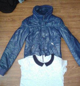 Bershka Куртка с Футболкой Sinsay