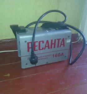 Сварочный аппарат ресанта 160А
