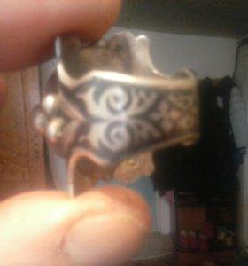 Серебрянное кольцо25гр