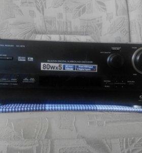 Panasonic av control receiver sa-he75