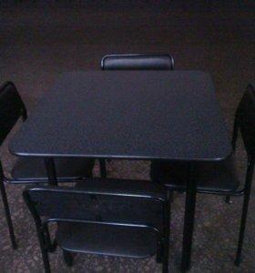 Стол , 4 стула