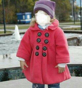 Пальто на девочку