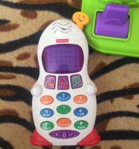 Fisher-Price телефон,игрушка