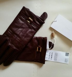 Перчатки Hugo Boss кожаные оригинал