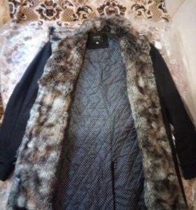 Пальто мужское на синтепоне новое