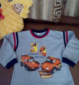 Кофточка на мальчика (4-5 лет)