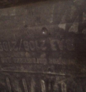 Коврик в багажник 2114