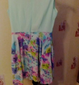 Платье воздушное, шифон!!!