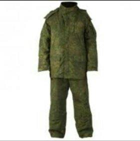 Костюм (куртка и брюки) зимний полевой цифра