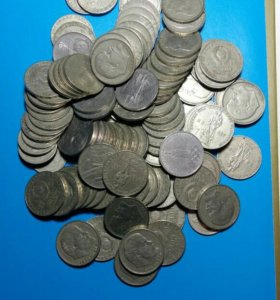 Юбилейные рубли СССР оптом 106 штук.