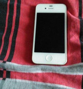 iPhone 4s(полный комплект)+2 чехла