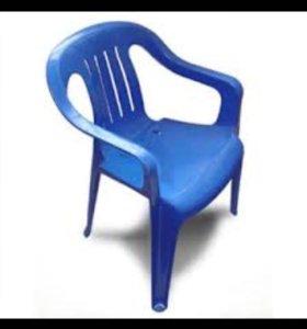Металлические-пластиковые стулья