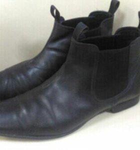 Итальянские мужские ботинки.