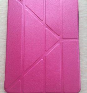 Розовый чехол на айпад Air 2