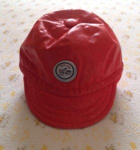 Крутая кожаная кепка для малыша б/у в идеале