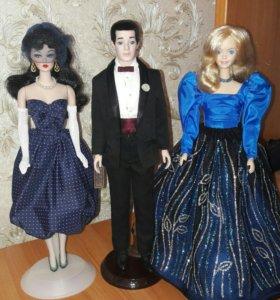 Фарфоровые куклы Барби