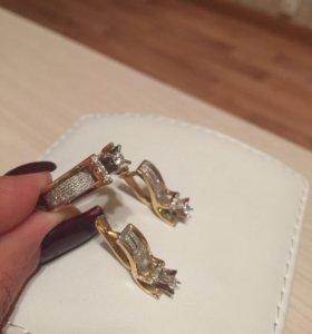 Комплект+ бриллианты