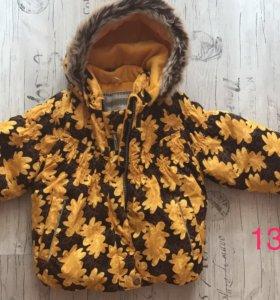 Куртка для девочки Lenne зима